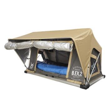 Tente de toit voiture à ouverture automatique