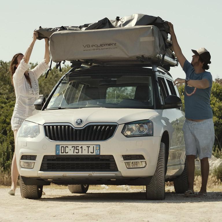 BXF.1 Tente de toit 4 places pour voiture