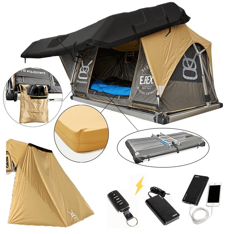 EBEX.2 - Tente de toit rigide et électrique