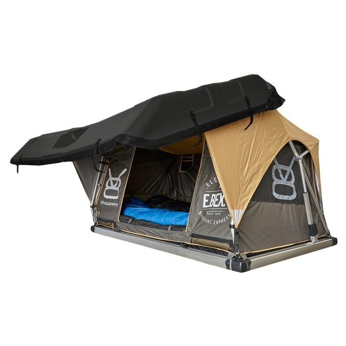 EBEX.2 - Tente de toit pour 4x4 - Ouverte côté