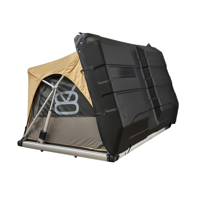 EBEX.2 - Tente de toit pour voiture et 4x4 - Demi ouverte