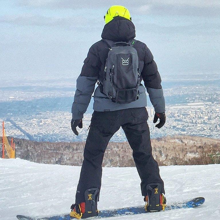 Veste de ski en duvet