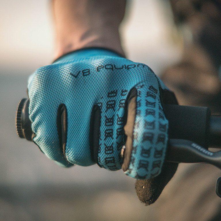 Gant VTT et Vélo de route - DZP porté