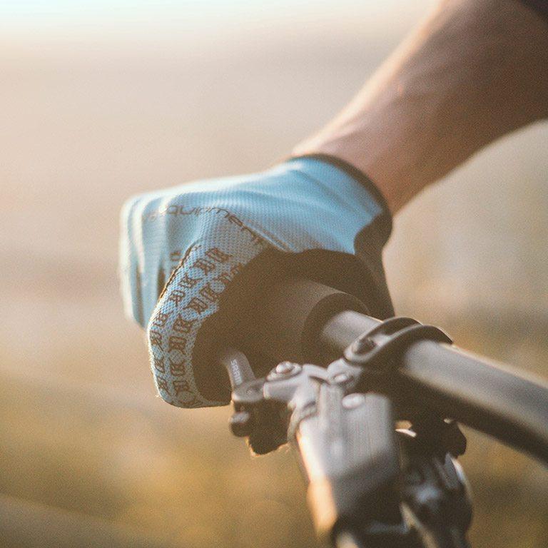 Gant VTT et Vélo de route - DZP bleu