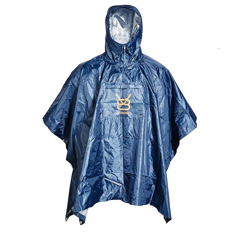 Poncho pluie et randonnée - navy
