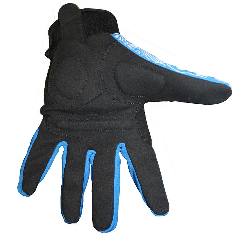 Gant VTT hiver - PAC bleus paumes