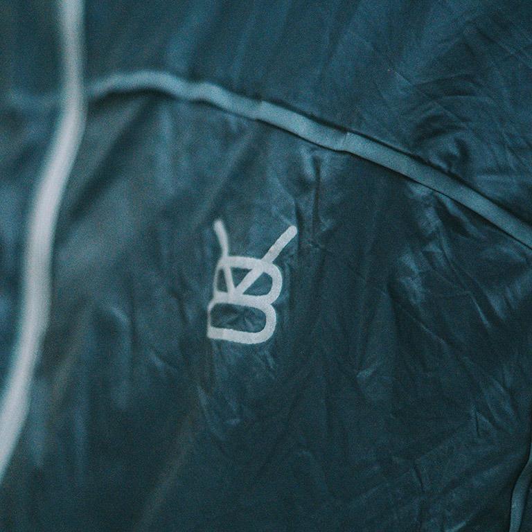 Veste légère et Coupe vent - Logo réfléchissant