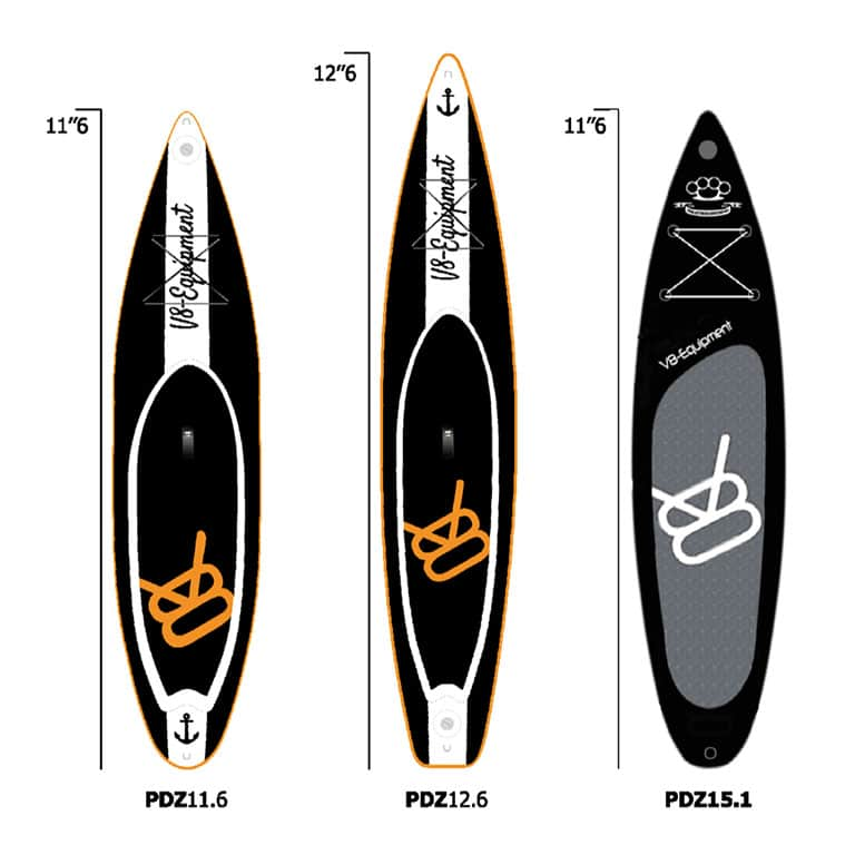 Comparatif paddles gonflables