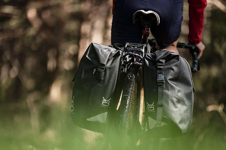 Sacoche Vélo - Fixable sur porte bagage