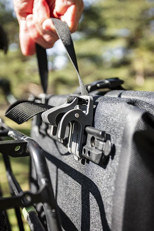 Sacoche Vélo - Système de fixation